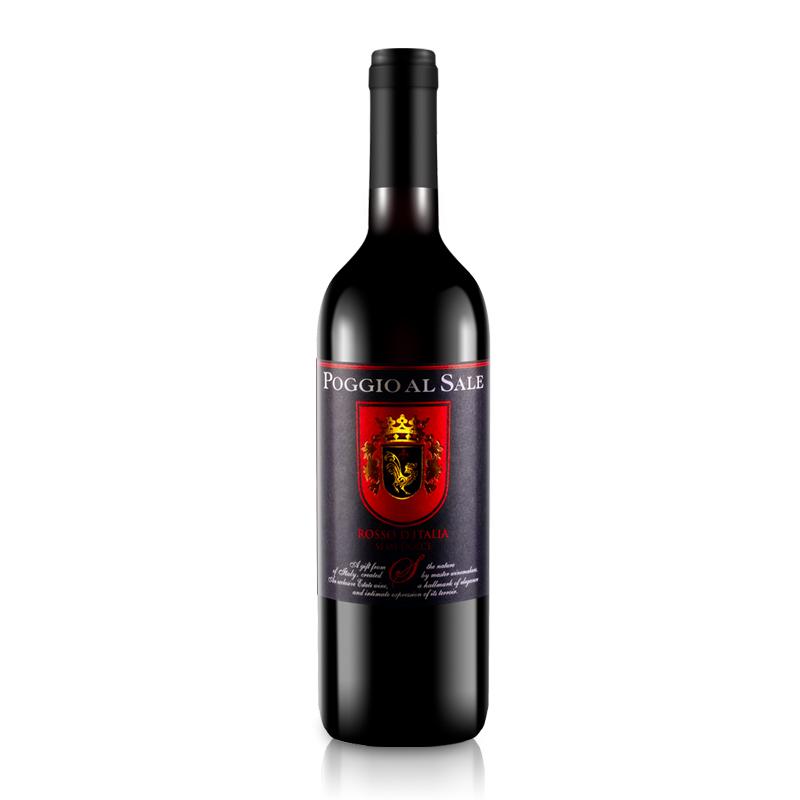 意大利原瓶进口伯格塞勒干红酒半甜红葡萄酒