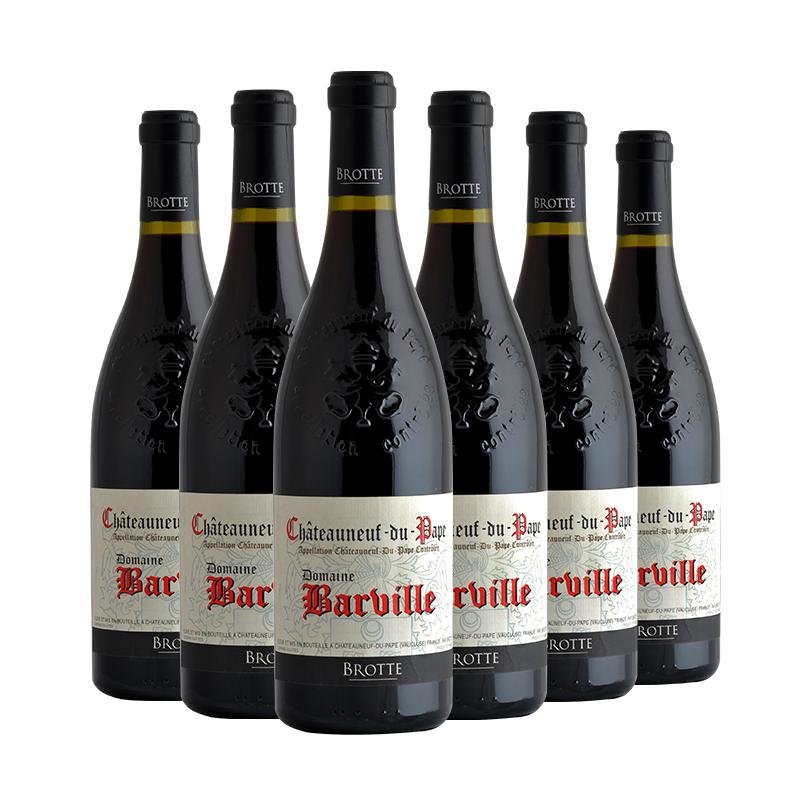 法国名庄巴尔维勒庄园 2015年教皇新堡红葡萄酒